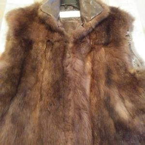 Fur Vest by Andrew Marc